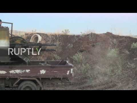 Syria: Israel strikes Syrian military in Golan Heights