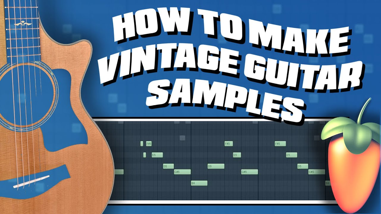 How Cubeatz Makes Vintage Guitar Samples