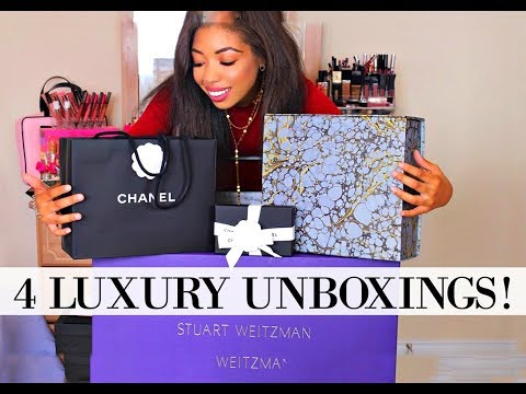 LUXURY HAUL FALL 2017 | CHANEL, BALMAIN & STUART WEITZMAN