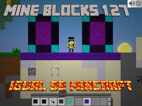 Mine Blocks 1.27 Como Fazer Um Portal Igual De Minecraft