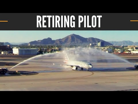Retiring Pilot After 44 Years  I  Captain Mike Tragarz  I  American Airlines