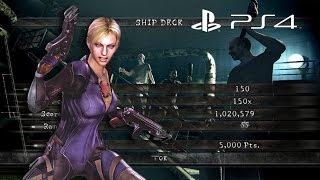 Ship Deck Solo 1,020,579 Jill Battlesuit   Resident Evil 5 PS4 Mercenaries United HD