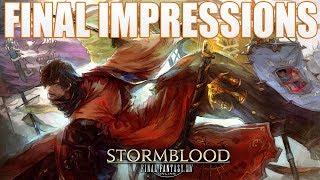 Final Fantasy XIV: Stormblood Final Impressions!