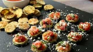 Zucchini Recipes - How To Make Zucchini Chips