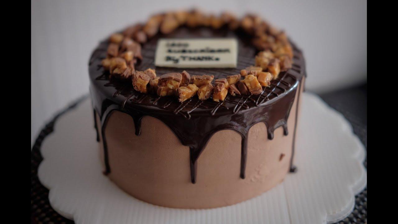 Chocolate Birthday Cake Homemade Simple Birthday Cake Youtube