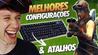 MELHORES CONFIGURAÇÕES PARA FORTNITE - DO NOOB AO PRO #1
