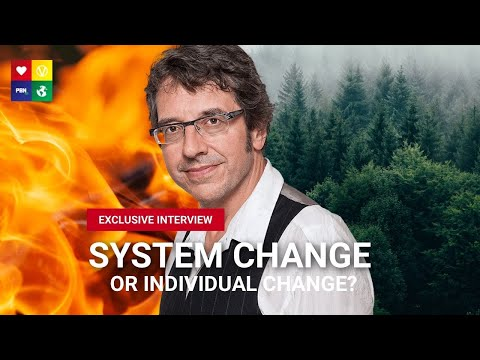BEST WAY TO TACKLE CLIMATE CHANGE w/ George Monbiot