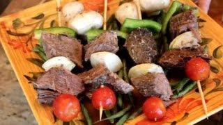 Beef Kabobs From Chuck Roast : Roast Beef Recipes