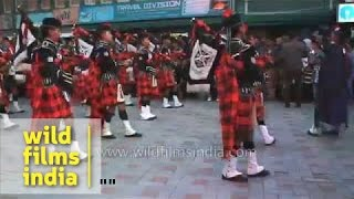 Scottish Gurkha bagpipers from Kalimpong : a piece of Scotland in India!