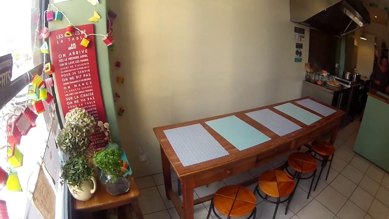 la petite cuisine de sandrine les petites tables youtube. Black Bedroom Furniture Sets. Home Design Ideas