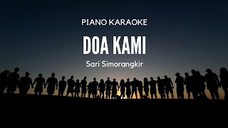 Download Mp3 Doa Kami - Sari Simorangkir  Piano Karaoke  By Pianoiman