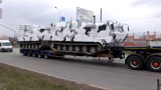Танки в Крылатском! Новая военная техника к параду 9 мая впервые в Москве