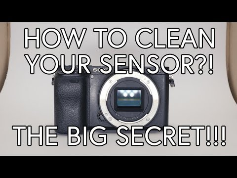 How to clean camera sensor | Sony a6300, a6400, a6500, a7s II, a7 III, FS5, FS5