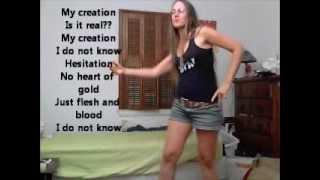 Dancing to Oingo Boingo Weird Science w/ lyrics