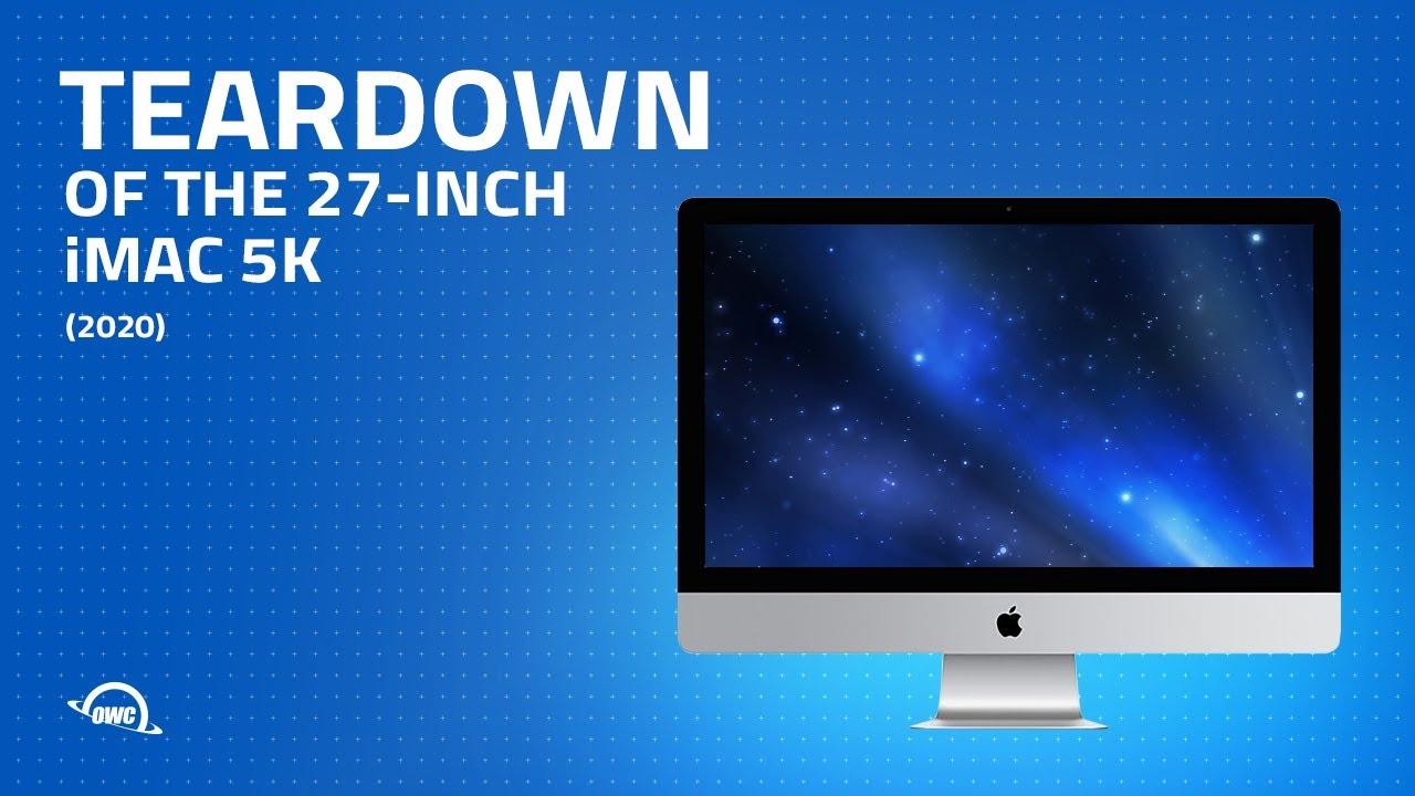 2020 27-in iMac 5K Teardown