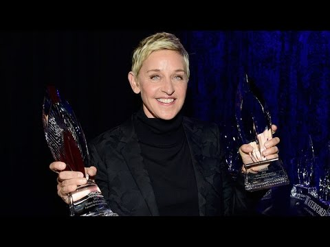 Ellen DeGeneres Gives Inspiring Speech About Kindness