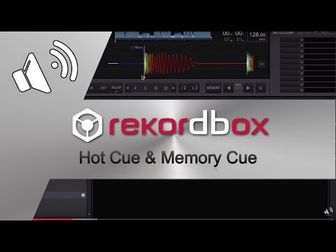 Rekordbox 3.0 Hot Cue & Memory Cue TUTORIAL (GER/DEU)