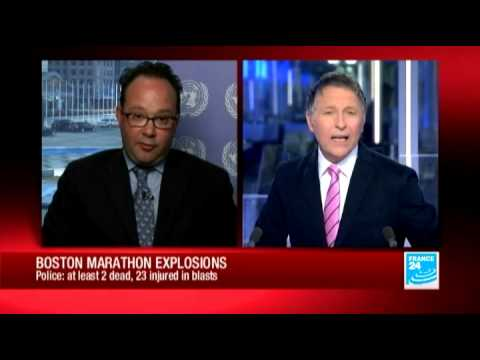 FRANCE 24's Nathan King reports on Boston bombings