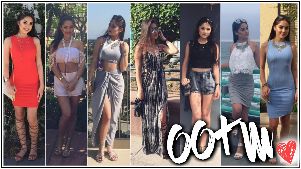34c7c49fb8e0 OOTW  California   VIDCON! ♡ 9 Outfits! ♡ xlivelaughbeautyx - YouTube