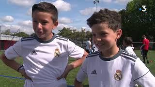 Stage de Football pour des enfants à Valenciennes avec le Réal Madrid