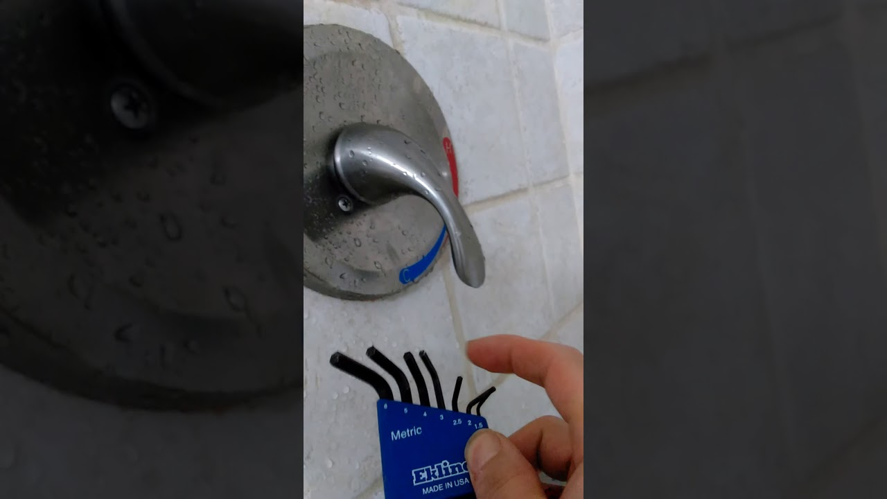 aquasource shower faucet no hot water fix
