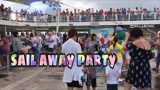 @ Brisbane Terminal P&O PACIFIC DAWN CRUISE/2017 sail away party