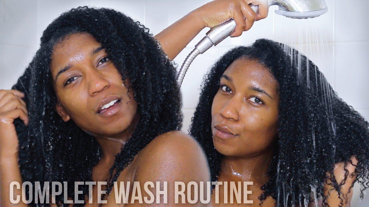 Natural Hair Care Co Washing