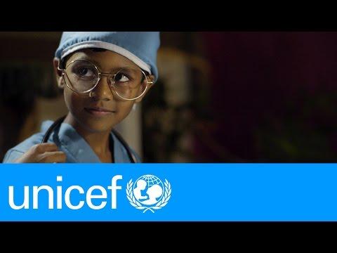 Little children. Big dreams. | UNICEF