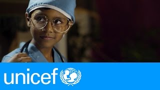 Little children. Big dreams. | UNICEF