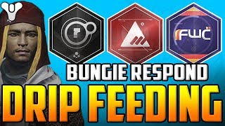 Destiny 2 - Bungie Respond To The BS Faction Rallies Event - (Drip Feeding Us Content)