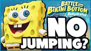 Can You Beat SpongeBob SquarePants: Battle for Bikini Bottom - Rehydrated Jumpless? - DPadGamer