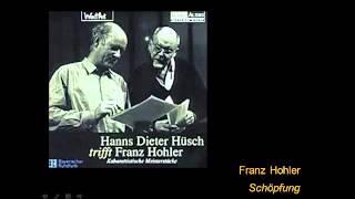 How it all began – Die Schöpfung
