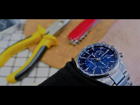 How to resize Citizen watch bracelet at home