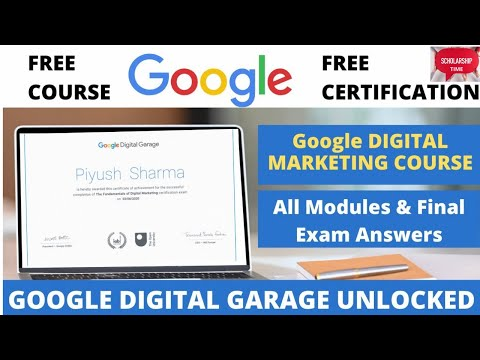 Google Digital Marketing Course   Free course with Free certificates  how to enroll for free