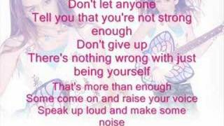 Make Some Noise by Miley Cyrus+lyrics