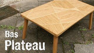 Fabrication d'une table basse en chêne
