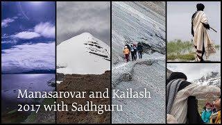 Manasarovar and Kailash 2017 with Sadhguru