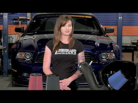 2011-2014 Mustang V6 Airaid Cold Air Intake - SynthaMax Dry Filter Review & Install