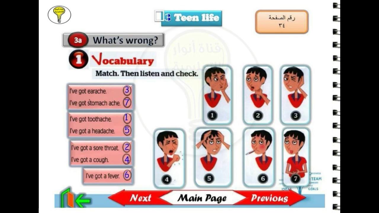 full blast 4 حل كتاب الطالب