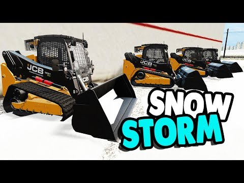 SNOW REMOVAL BUSINESS CLEARS TOWN | Farming Simulator 17 Multiplayer Gameplay