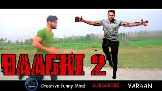 Yaraan Vines new video on baaghi 2 very funny and suspencic video by rakx production 2018