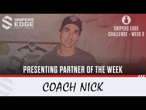 #SnipersEdgeChallenge - Week 9 - Coach Nick, Sliver Hockey School