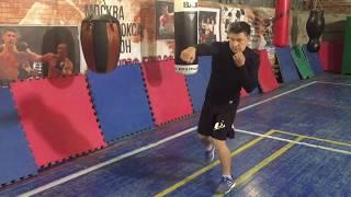 Маятник, как основа ударного движения боксера! Базовое упражнение в боксе.