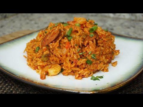 How To Make Shrimp and Sausage JAMBALAYA