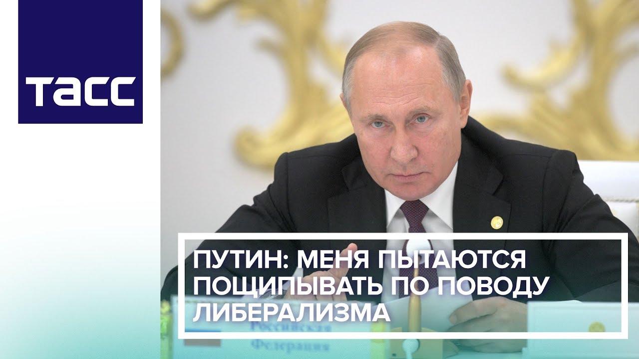 Путин: меня пытаются пощипывать по поводу либерализма