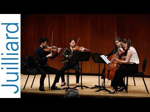 Bartók's String Quartet No. 6 | Juilliard Areta Zhulla & Roger Tapping Music Master Class