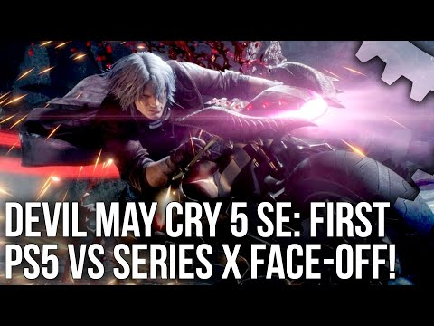 Devil May Cry 5 SE: PS5 vs Xbox Series X - The First Next-Gen Performance Face-Off