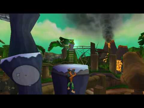 Showcase - Crash Tag Team Racing jogável no CxBx-Reloaded (XBox)