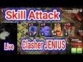 CLASHER JENIUS ATTACK TH 10 9 SUPER Keren Abis video Live Attack Langsung Dari MALAY