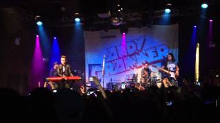 Andy Grammer Fine By Me NYC 02/10/12